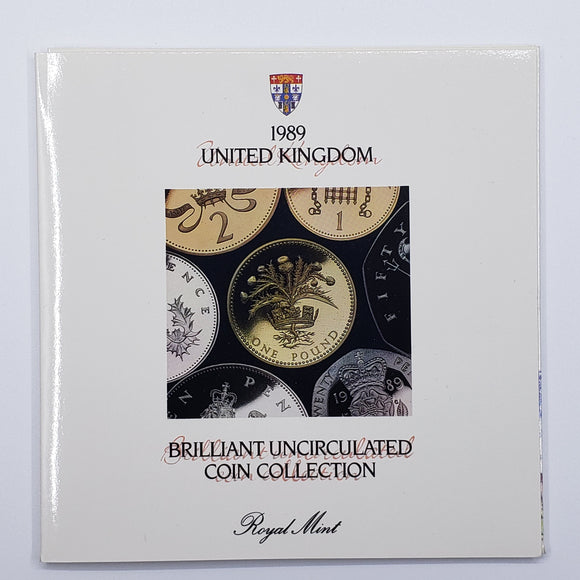 UK Royal Mint Uncirculated Set 1989