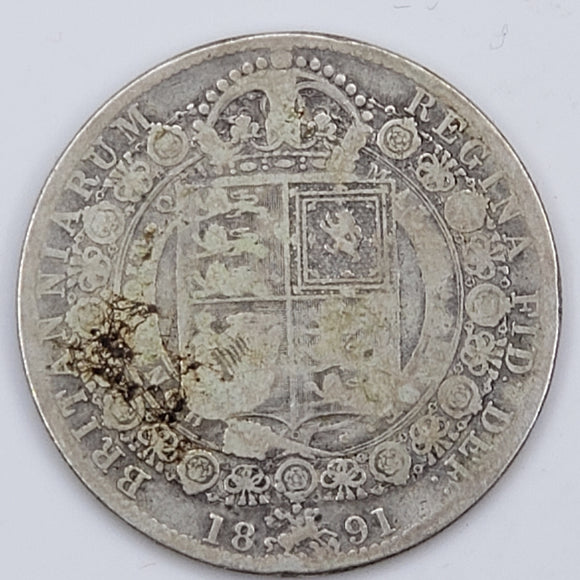 Great Britain Half Crown 1891