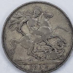 Great Britain Crown 1892