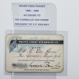Pacific Coast Steamship Co. 1888 Pass