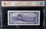 1954 Bank of Canada $10, Modified, BCS Certified UNC-60 Original