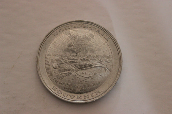 1892-1893 U.S.A. Worlds Fair, Chicago, Aluminium