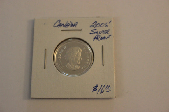 2005 25 Cents, Silver, Silver Proof