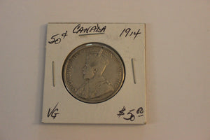 1914 50 Cents, Silver, VG