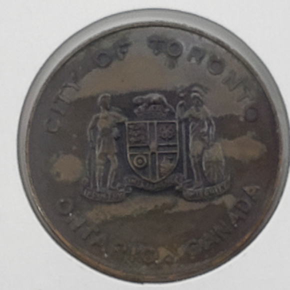 Canada Toronto City Hall souvenir token