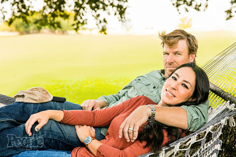 Joanna and Chip Gaines Wearing Throne Watches