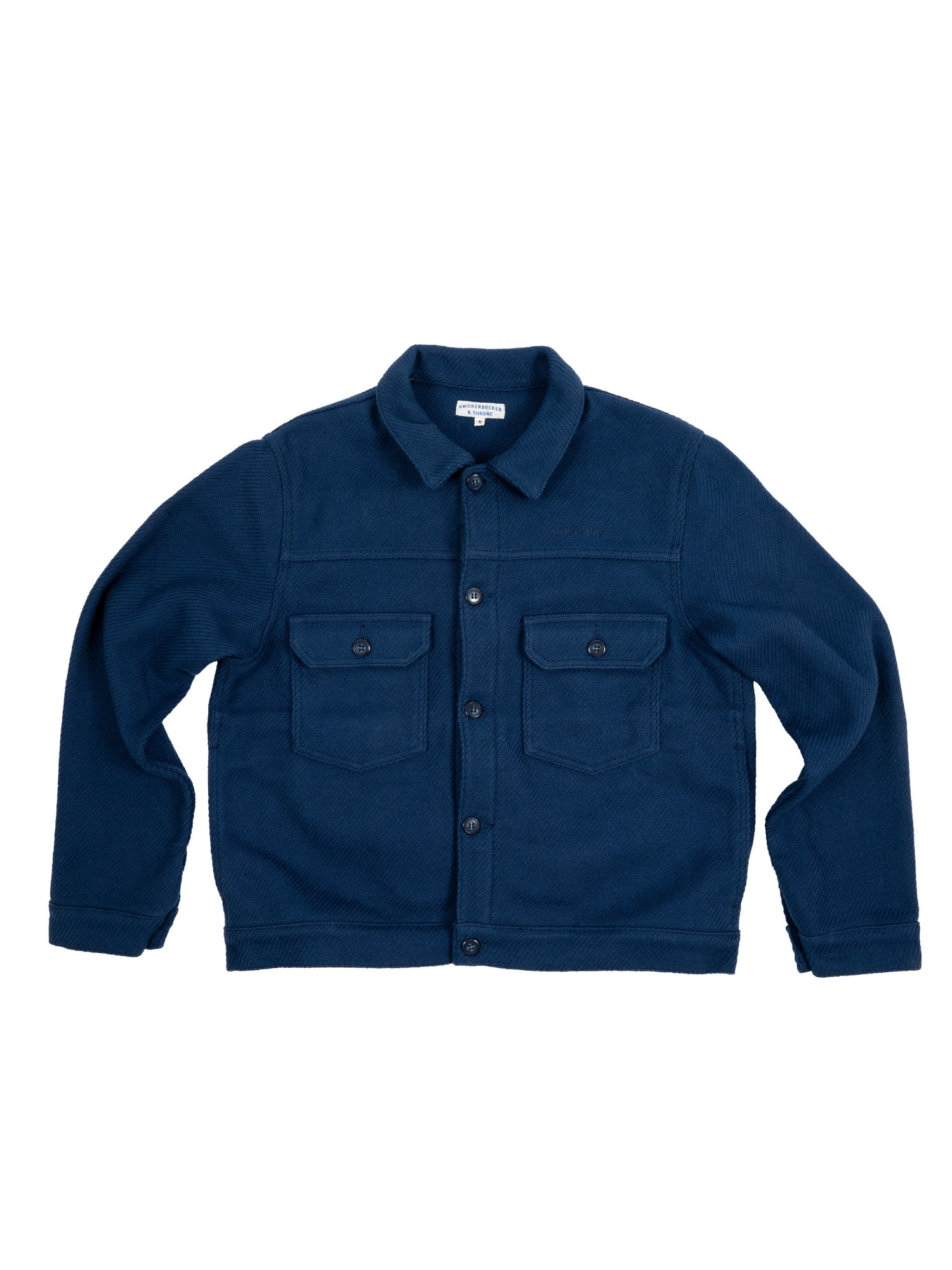 Throne x Knickerbocker Trucker Jacket in Indigo