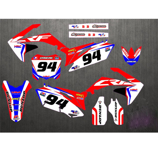 KIT DÉCO SEMI PERSO CRF250 2010-2013 BDKHC41