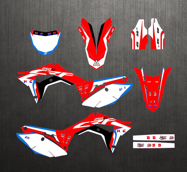 KIT DÉCO SEMI PERSO CRF250 2018-2020 BDKHC40