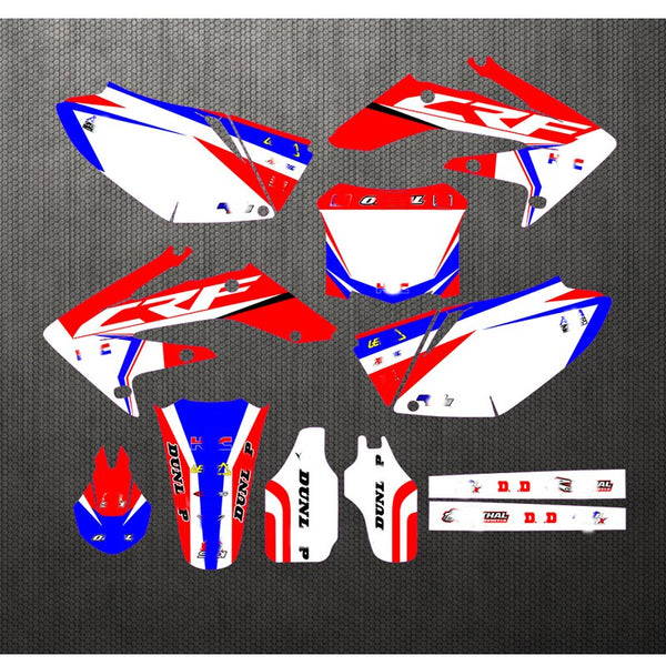 KIT DÉCO SEMI PERSO CRF 250 2004-2009 BDKHC39