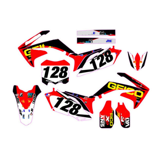 KIT DÉCO SEMI PERSO CRF250 2010-2013 BDKHC38