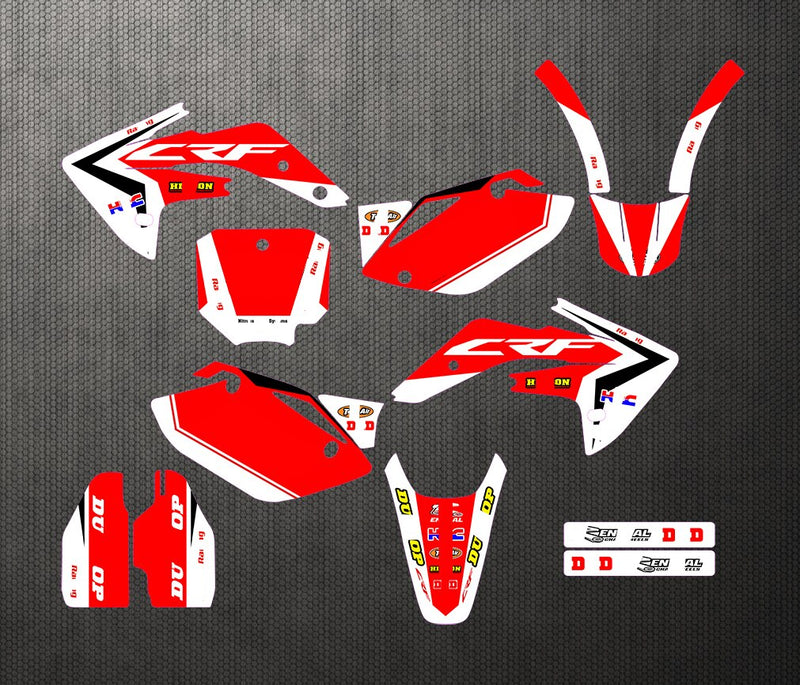 KIT DÉCO SEMI PERSO CRF 150R 2007-2013 BDKHC37