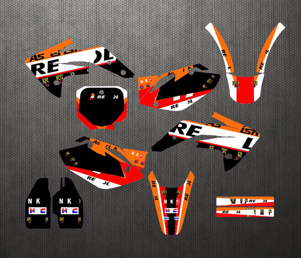 KIT DÉCO SEMI PERSO CRF 150R 2007-2013 BDKHC36