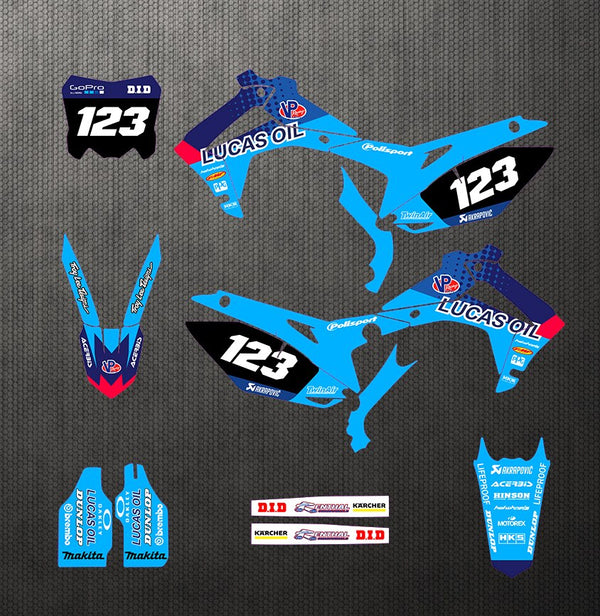 KIT DÉCO SEMI PERSO CRF250 2014-2017  450 2013-2016 BDKHC80