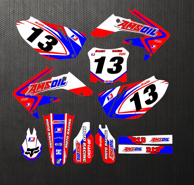 KIT DÉCO SEMI PERSO CRF250R 2004-2009 BDKHC79