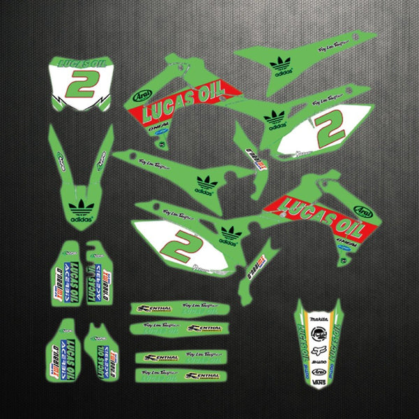 KIT DÉCO SEMI PERSO CRF250R 2014-2017 450R 2013-2016 BDKHC77