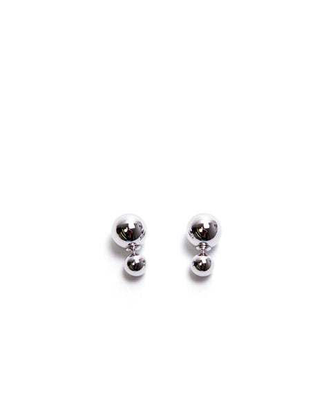 Disco Ball Earrings - Silver - Piin | www.ShopPiin.com
