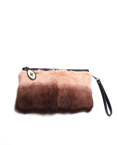 Carried Away Fur Clutch - Piin | www.ShopPiin.com