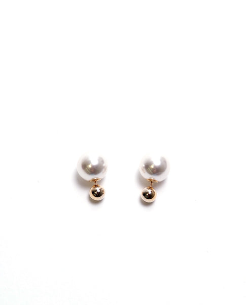 One Or Two Earrings - Gold - Piin | www.ShopPiin.com