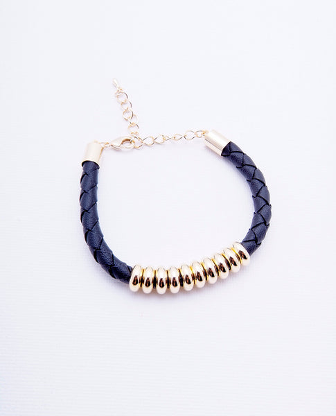 Ten Lucks Bracelet - Gold/Black - Piin | ShopPiin.com