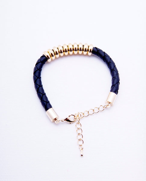 Ten Lucks Bracelet - Gold/Black - Piin | www.ShopPiin.com