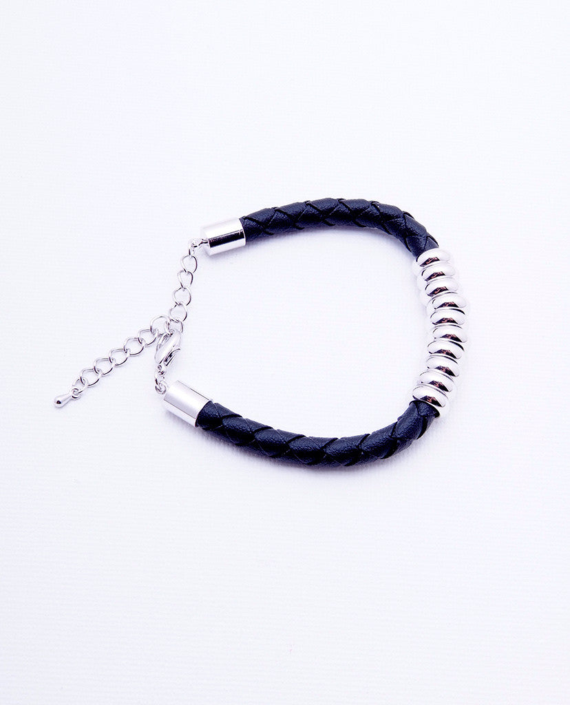 Ten Lucks Bracelet - Silver/Black - Piin | ShopPiin.com
