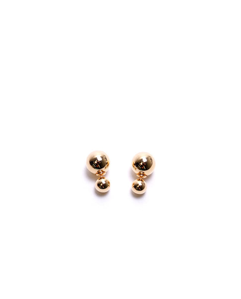 Disco Ball Earrings - Gold - Piin | www.ShopPiin.com