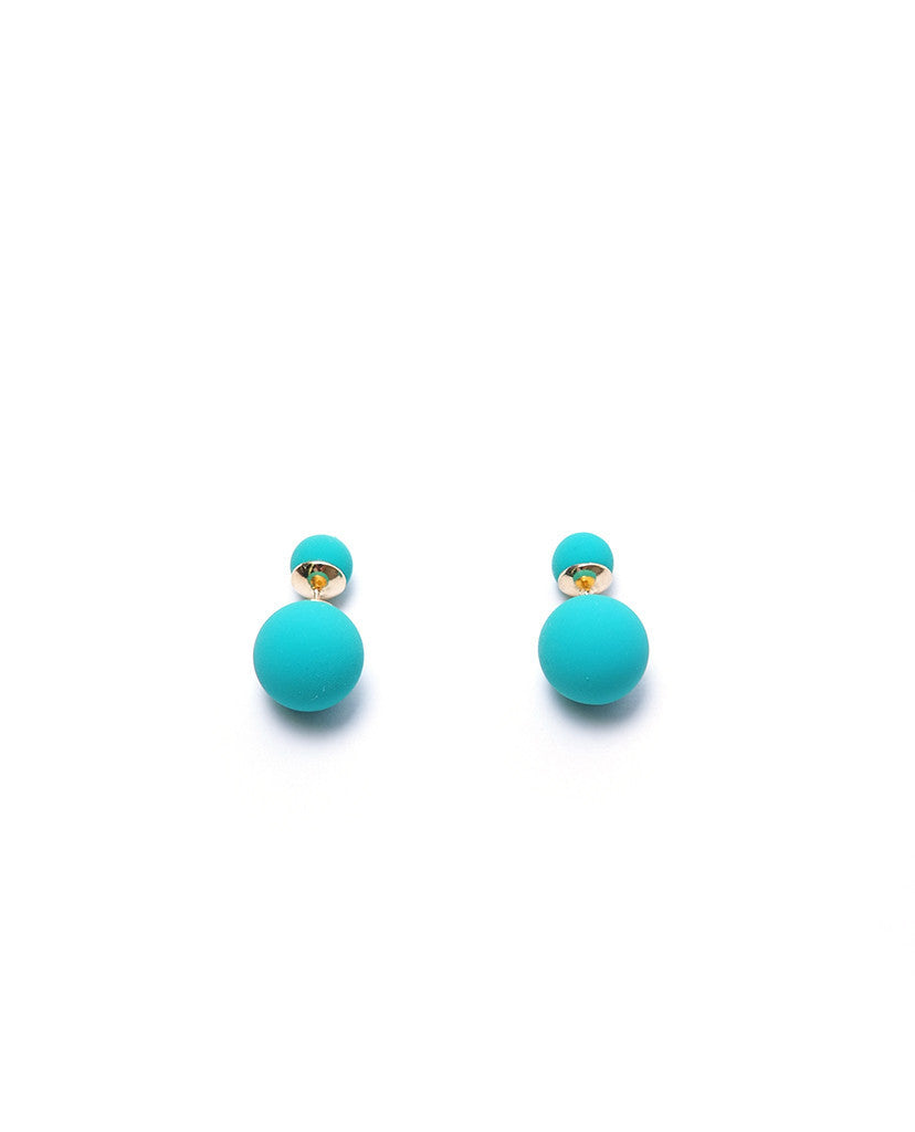 Little Big Treats Earrings - Green - Piin | ShopPiin.com