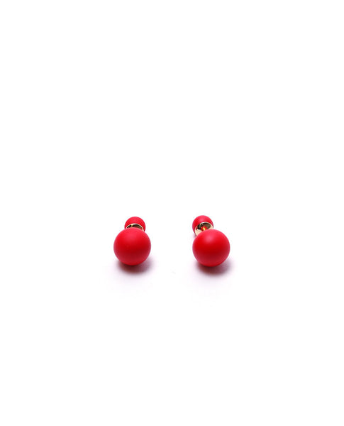 Little Big Treats Earrings - Red - Piin | ShopPiin.com