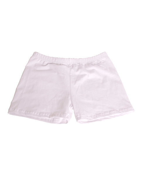 Underneath Cotton Boy Shorts - White - Piin | ShopPiin.com