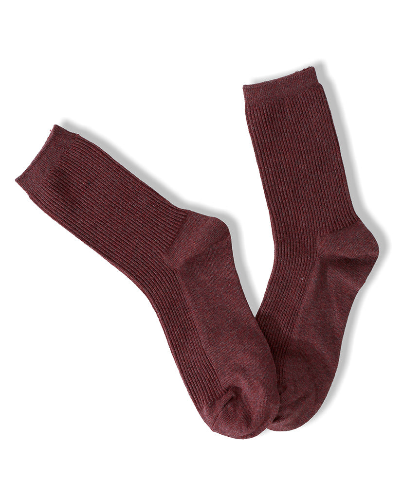 State of Ankle Socks - Burgundy