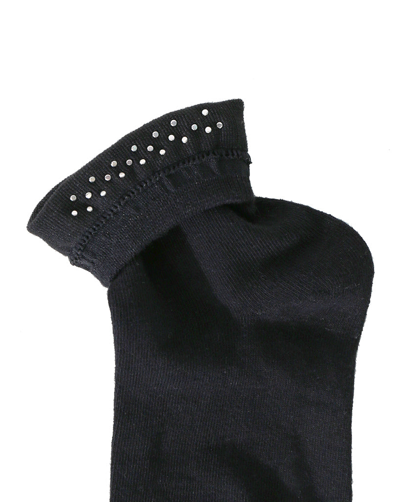 Pearl Factor Socks - Black - Piin | ShopPiin.com