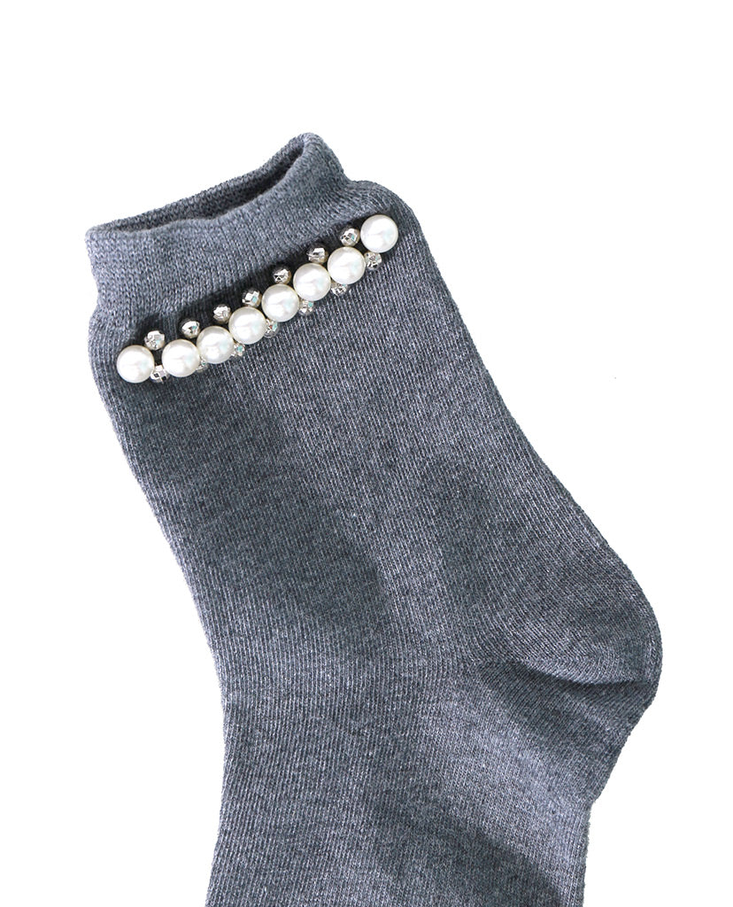 Pearl Factor Socks - Gray