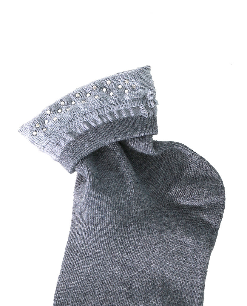 Pearl Factor Socks - Gray - Piin | ShopPiin.com
