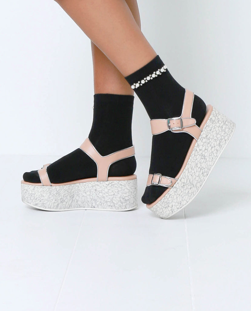 Pearl Factor Socks - Black