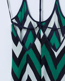 South Hampton Maxi Dress - Multi Chevron - Piin | ShopPiin.com