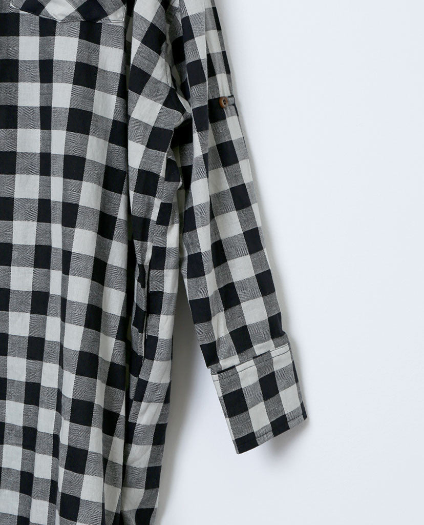 Checking Moment Plaid Shirt Dress - Piin | ShopPiin.com