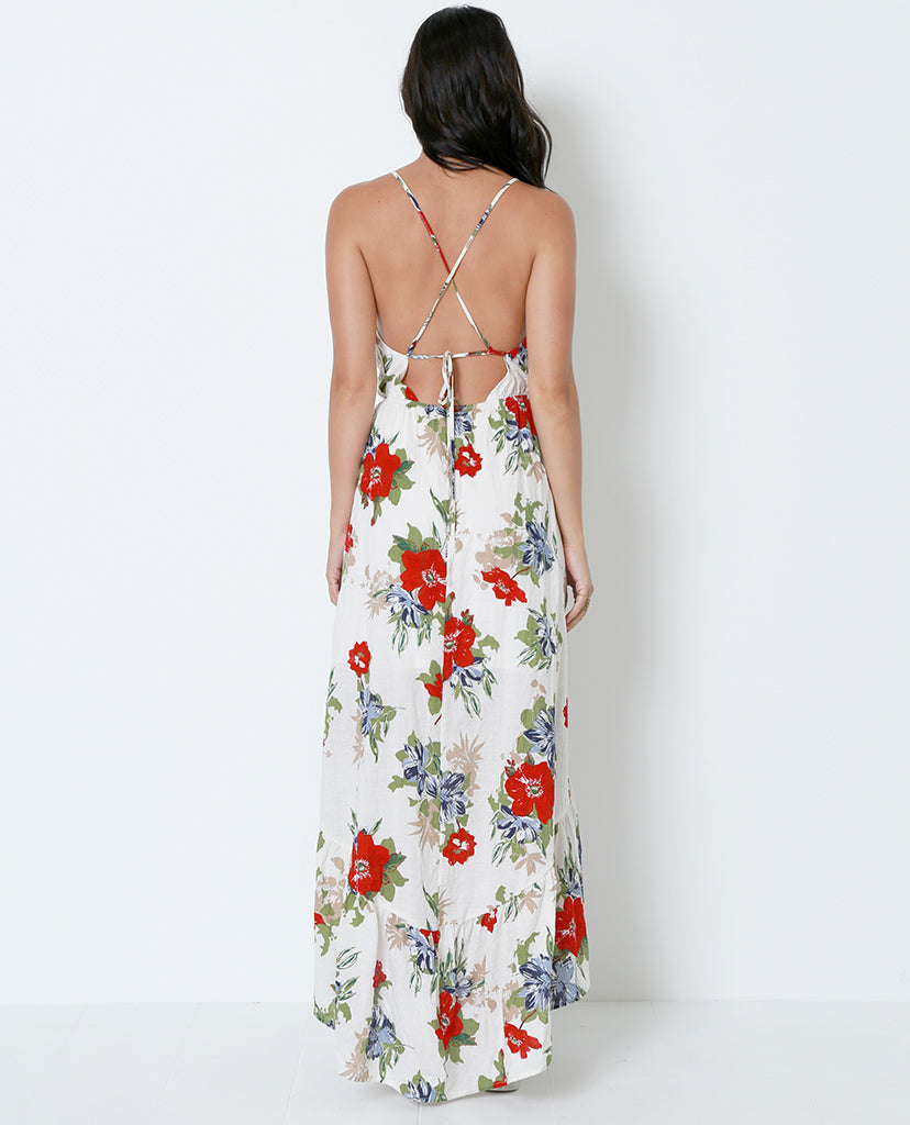 Can't Get Over Flower Maxi Dress - Print - Piin | ShopPiin.com