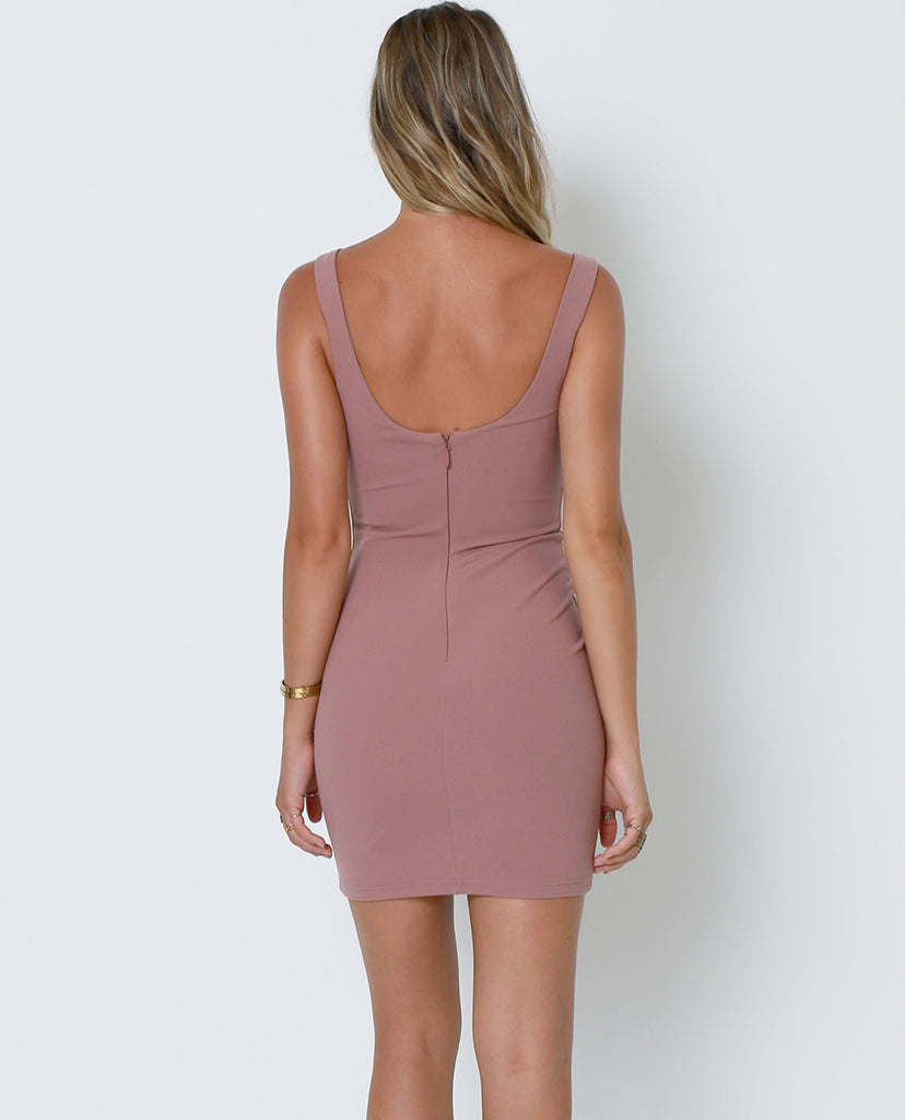 Stand Out Dress - Nude - Piin | ShopPiin.com