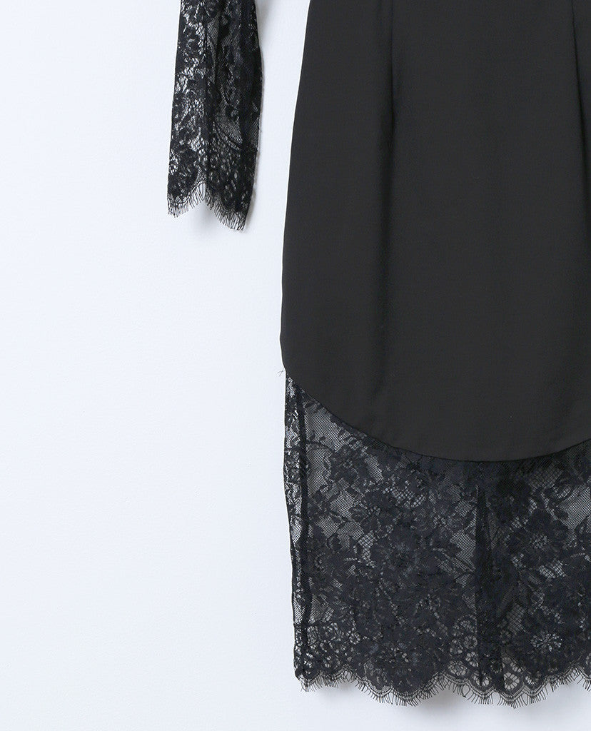 My Dream Lace Dress - Black - Piin | ShopPiin.com