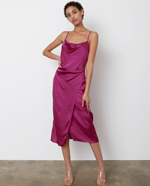 Amore Mio Slip Dress - Violet - Piin | ShopPiin.com