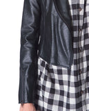 Speedy Moto Jacket - Black Leather - Piin | ShopPiin.com