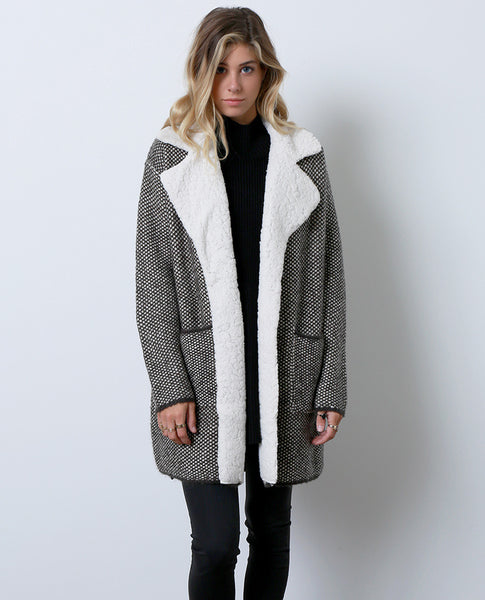 Go To Sweater Coat - Gray - Piin | www.ShopPiin.com