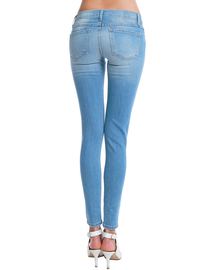 Let It Rip Skinny Denim Jeans - Distressed - Piin | ShopPiin.com
