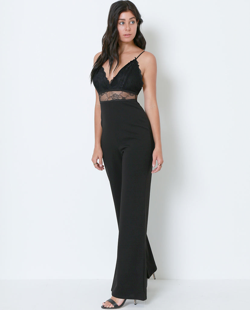 Nothing Hotter Than You Jumpsuit - Black - Piin | ShopPiin.com
