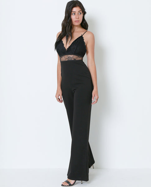 Nothing Hotter Than You Jumpsuit - Black