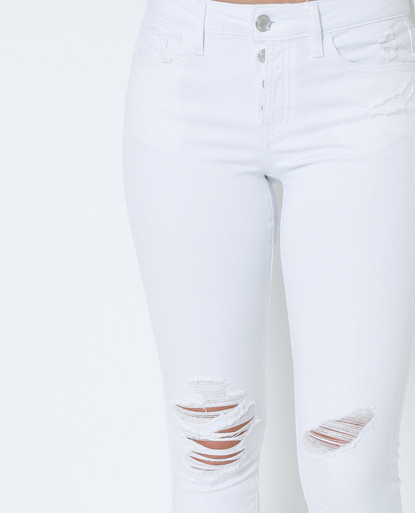 New Day Cropped Skinny denim Jeans - White
