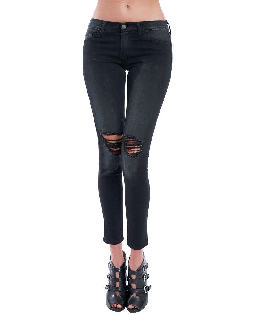 Running Through Town Black Denim Skinny Jeans - Piin | ShopPiin.com