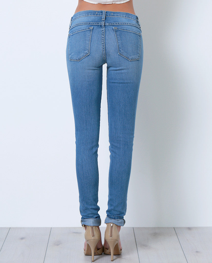 Just Get Them Skinny Denim Jeans - Piin | ShopPiin.com
