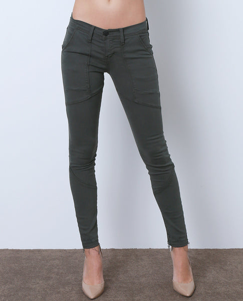 Kick Your Feet Up Colored Denim Skinny Jeans - Green - Piin | ShopPiin.com